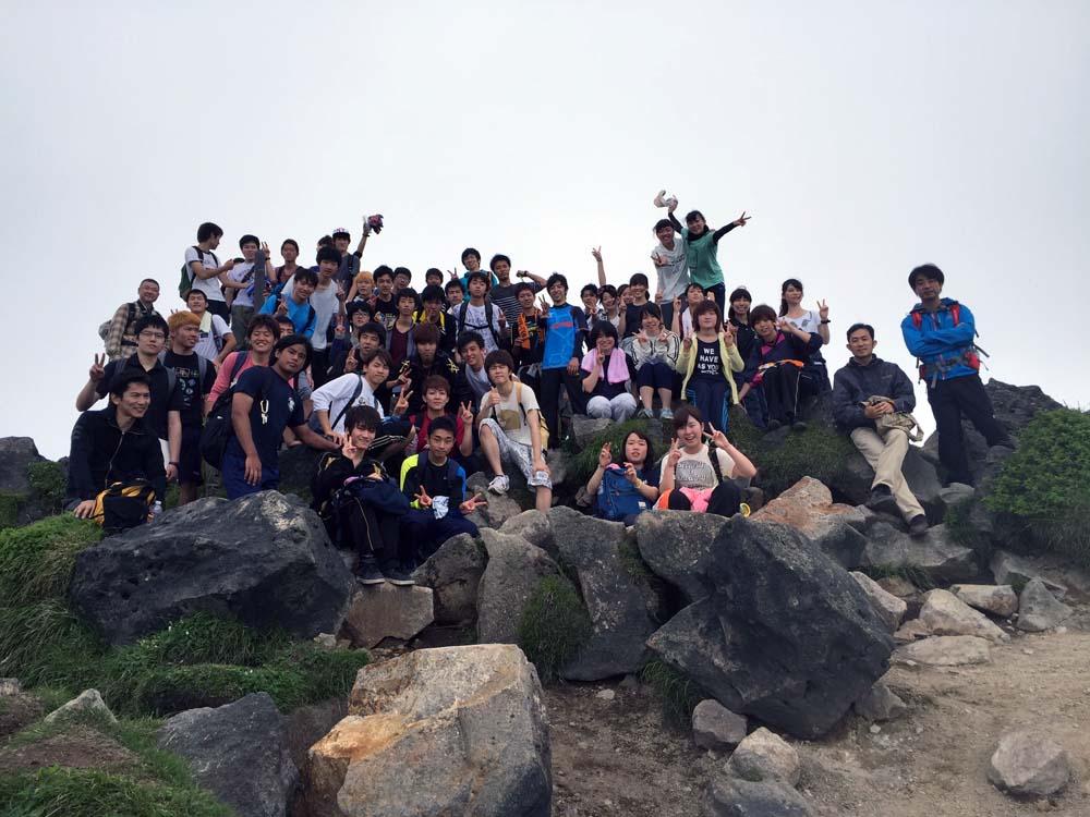 九重山山頂